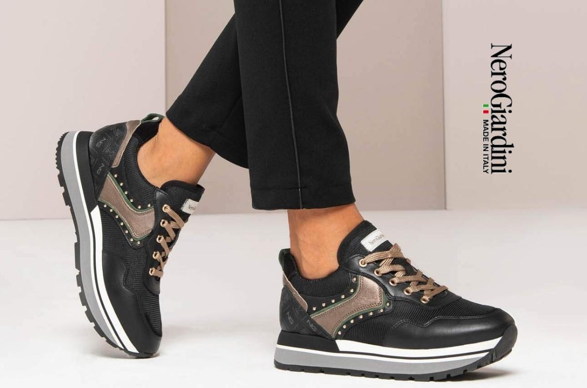 Nero Giardini Sneaker Donna Nuova Collezione Autunno - Punto Scarpe Ravasio